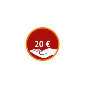 Spenden Sie 20 Euro