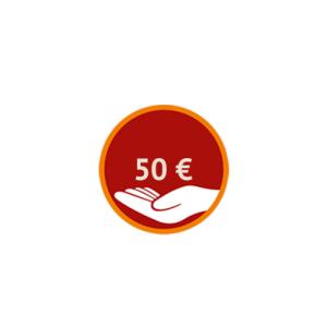 Spenden Sie 50 Euro