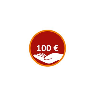 Spenden Sie 100 Euro